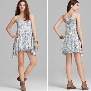 Free People Voile & Lace Trapeze Slip Dress Small